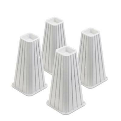 Honey-Can-Do Sto-01006 Stackable Bed Risers 4-Pack White Home & Garden Furnitur