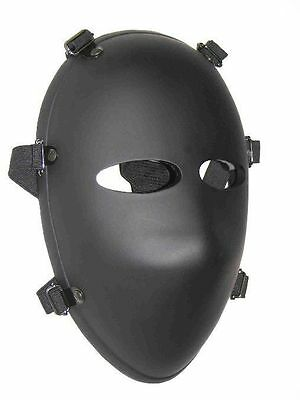 DEA Armor Tactical Ballistic Face Mask Bullet Proof Bulletproof NIJ Level II
