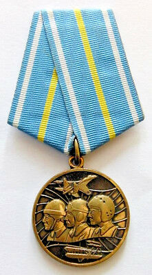 100 Years of Russian Air Force 1912-2012 Medal + Document Original Award