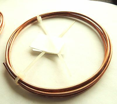 Unplated Copper Round Wire 3.5 mm X 1000 mm Jewelry Making / Wire Craft