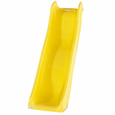 Plum® Heavy Duty Yellow Wave Slide 6ft - Climbing Frame Play Centre Attachment