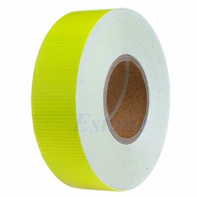 50M Warning Vehicle Reflective Safety Tape Roll Self-Adhesive Trucks Car Sticker