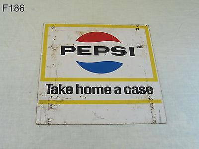 Vintage Pepsi Cola Soda Pop Advertising Grocery Store Service Station Display