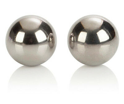 Silver Uni-Sex Duo Ben Wa Love Balls Personal Massager Kegal Exercise Weight