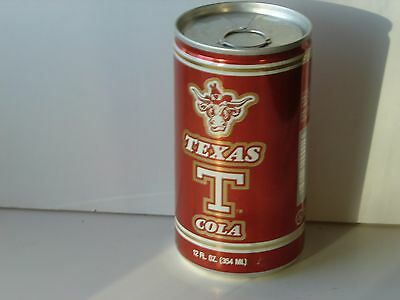 Texas T Cola; Texas T Beverage Company, Inc.; Houston, TX; Soda pop can