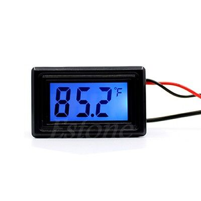 WH5001 Digital Thermometer Temperature Meter Gauge Water-proof Probe ℃ and °F