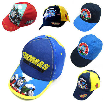 Boys Thomas the Tank Engine Baseball Caps 1-4 and 4-6 years 100% Cotton