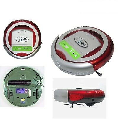 Robot Vacuum Cleaner Robotic Automatic Floor Cleaning Sweeper Home Room Kitchen
