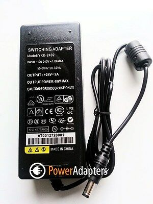 Dymo Labelwriter 450 Turbo Label Printerr 24v quality power supply charger cable