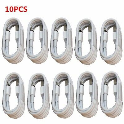 10x USB Data Sync Charger Cable Cord for iphone 5/5s 6/6P 6s/7 7P/8 8p x ipad