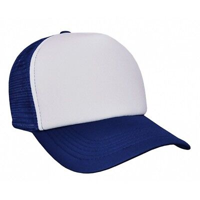 25 Units Of Trucker Polyester Mesh Cap With Plastic Tab (Bulk Buys)