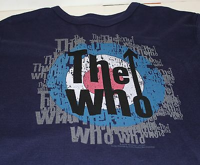 The Who Live Nation Merchandise Men's Long Sleeve Shirt Size Large