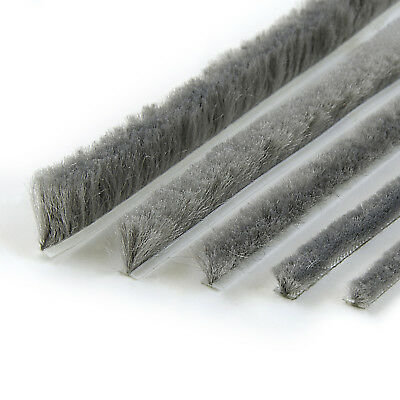 SELF-ADHESIVE BRUSH windows loft hatch doors draught excluder heat loss reducer