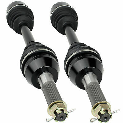 REAR LEFT and RIGHT CV JOINT AXLES Fits POLARIS SPORTSMAN 500 TOURING EFI 08-10
