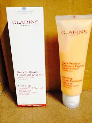 Clarins One Step Gentle Exfoliating Cleanser - new - 125 ml