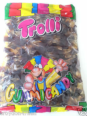 Trolli Gummy Cola Bottles - Bulk Lollies 2kg