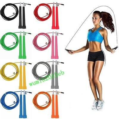 3M Sport Exercise Body-Building Steel Wire Skipping Fitness Adjustable Jump Rope