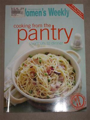 Australian Womens Weekly Cookbook Food Cooking From The Pantry Shortcuts Dinner