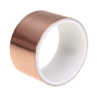3M x 50mm Guitar Pickup EMI Copper Foil Shielding Tape Conductive Adhesive