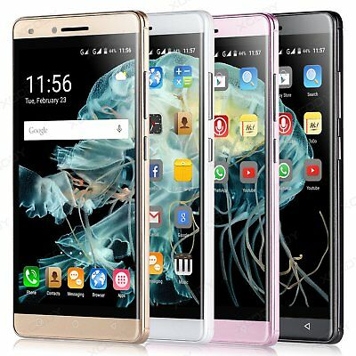 "XGODY Quad Core Android 5.1 Smartphone 3G Unlocked 5"" Mobile Phone Dual SIM GPS"