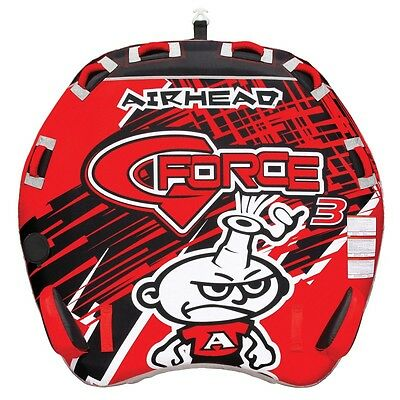 Airhead G Force 3 Towable Inflatable Water Ski Deck Tube 3 rider