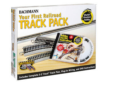 Bachmann World's Greatest Railroad Track Pack - 45 pieces - HO Scale