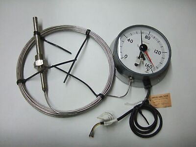 BUDENBERG Gas Filed 0-160 F Deg Thermometer Gauge Gage