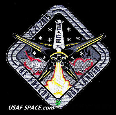 New Spacex Original - The Falcon Has Landed - 12-21-2015 - Falcon 9 Space Patch