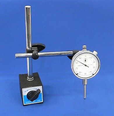 Dial Indicator Set with On/Off Magnetic Base