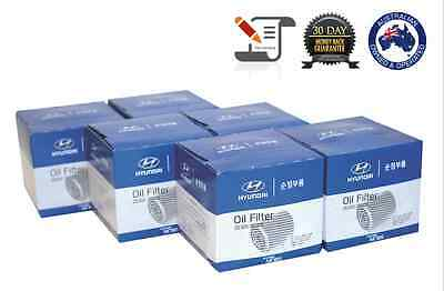 6X Genuine Trade Pack Z79A I30 Oil Filter (Tax Invoice - Gst Included)