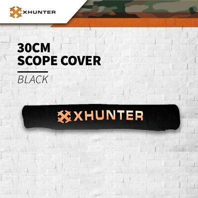 XHUNTER NEOPRENE RIFLE SCOPE COVER DUST PROTECTION LARGE for 12 inch 56mm lens