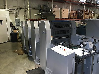 "Heidelberg SM 52 14x20"" 4-Color Year 2001 CP 2000"