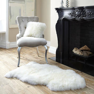 100% Genuine Sheepskin Rug 85-90CM*50CM +FREE Shipping