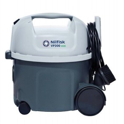 Nilfisk VP300 Eco Commercial Canister Dry Vacuum Cleaner -12 month Warranty