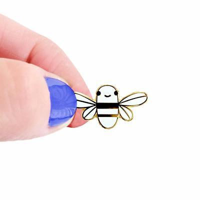 Mini Golden Bee Enamel Pin Chris Uphues