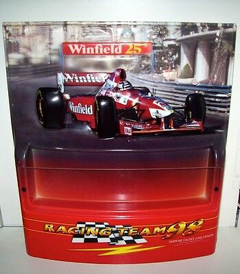 Vintage Winfield Racing Team 98 Cigarette Display Sign In Great Condition