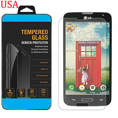 NEW Tempered Glass Protective Screen Protector Film for LG Optimus L90 D405 D415