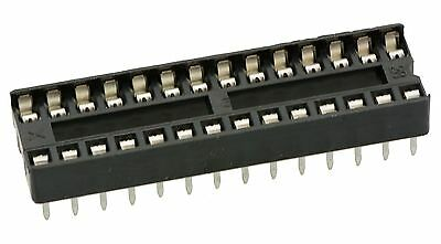 10 x 28-Pin DIP / DIL PCB IC Socket