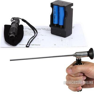 Portable LED Cold Light Source Connector Fit STORZ WOLF ENDOSCOPE Surgery