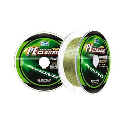 Asso PE Classic Braid Green - 300m - All Diameters