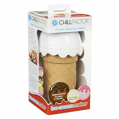 Chill Factor Ice Cream Maker - Vanilla Pink