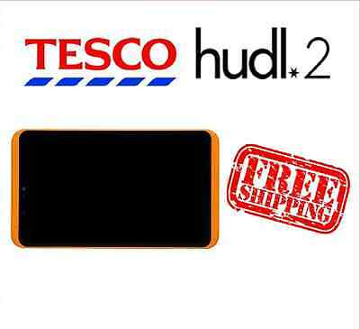 Tesco Hudl 2 Orange Replacement Full Screen LCD Digitizer Assembly Used Grade B