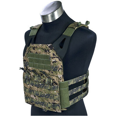 Flyye Swift Plate Carrier Army Combat Vest Paintball Armour Molle Holder Aor2