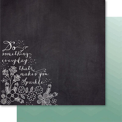 """Bella! Rustic Charm Double Sided Cardstock 12""""X12"""" Sparkle RM13"""