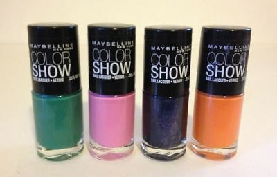Maybelline New York Colour Show nail colours by Colorama Various colours