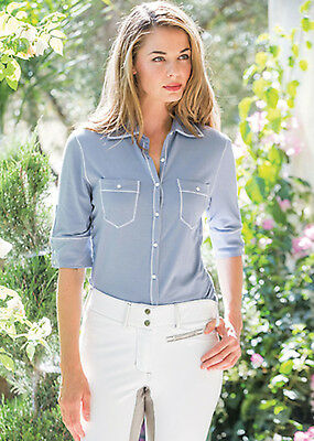 Goode Rider Favorite Knit Shirt-French Blue-S