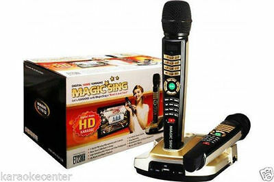 Magic Sing Karaoke ET23KH Wireless mic 5145 TAGALOG ENGLISH SONG 4K/Smart TV OK