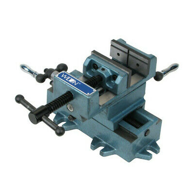 Wilton 6 in. Cross Slide Drill Press Vise w/ V-Grooved Jaws WMH11696 New