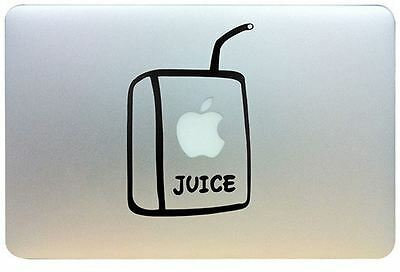Juice Box Vinyl Decal Sticker for Apple Mac Book/Air/Retina. Australia made