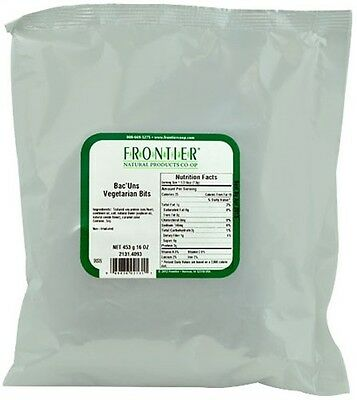 Frontier Natural Products Bac'Uns Vegetarian Bits - 16 oz